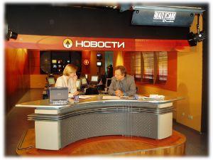 Dimitri de Kochko sur un plateau tv